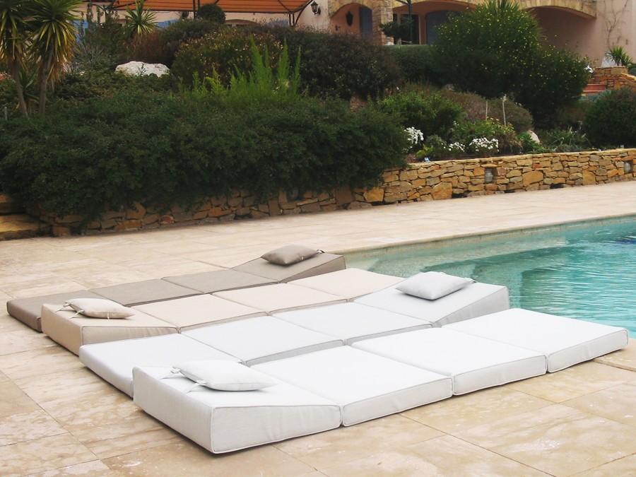 création odyssée matelas de piscine